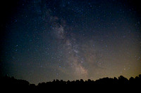 Milky Way above the Blue Ridge Mountains